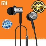 Review Xiaomi Mi Iv Hybrid Dual Drivers Earphones In Ear Headphones Silver Terbaru