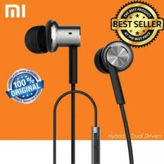 Jual Xiaomi Mi Iv Hybrid Dual Drivers Earphones In Ear Headphones Silver Grosir