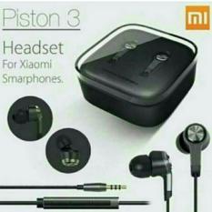 Xiaomi Mi Piston 3 Black Or White Edition In Ear Headset Earphone Xiaomi Acc Diskon 50