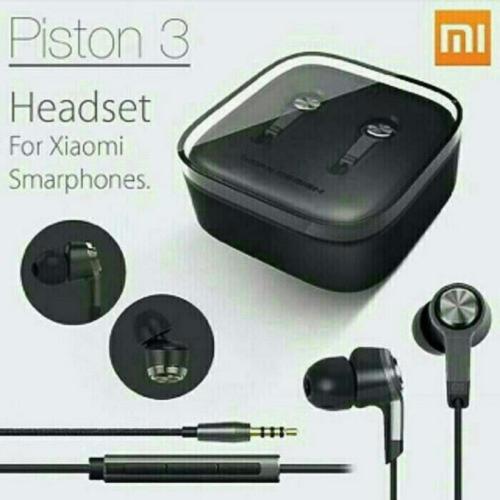 Xiaomi Mi Piston 3 Original Black Edition In-Ear Headset / Earphone - Headset Mono [Jawa Timur]   DuniaAudio.com