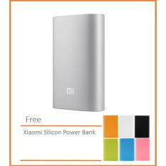 Xiaomi Mi Power Bank 10 000 Mah Silver Free Xiaomi Silicone Case Random Xiaomi Diskon 30