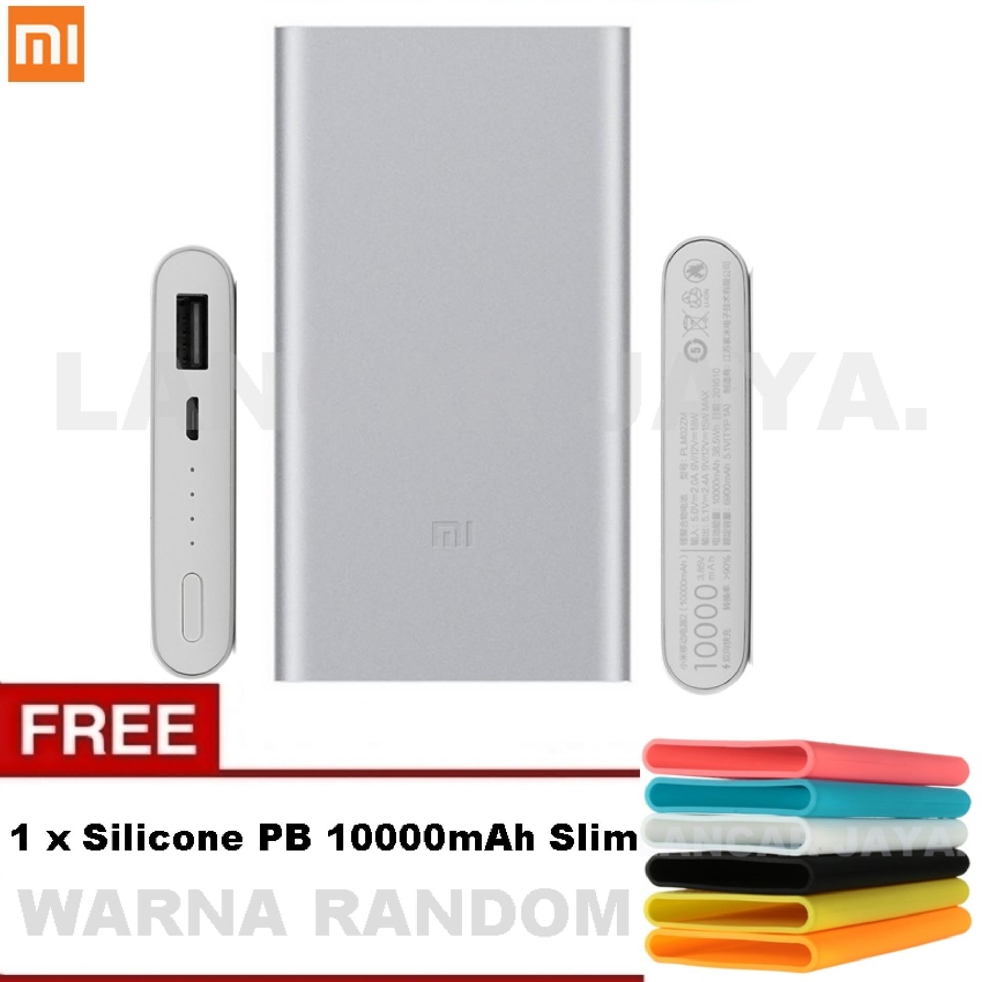 Powerbank Xiaomi Mi 99000mah Slim Stainless