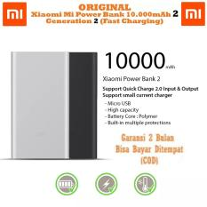 Xiaomi Mi Power Bank 10.000mAh 2 Fast Charging - Generasi 2