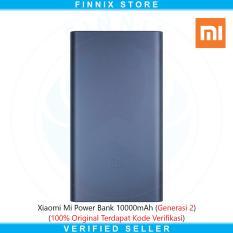 Spek Xiaomi Mi Power Bank 10 000Mah 2 Fast Charging Generasi 2 Hitam