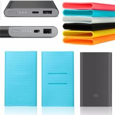Beli Xiaomi Mi Power Bank 2 10000Mah Black Free Silicon Xiaomi Asli