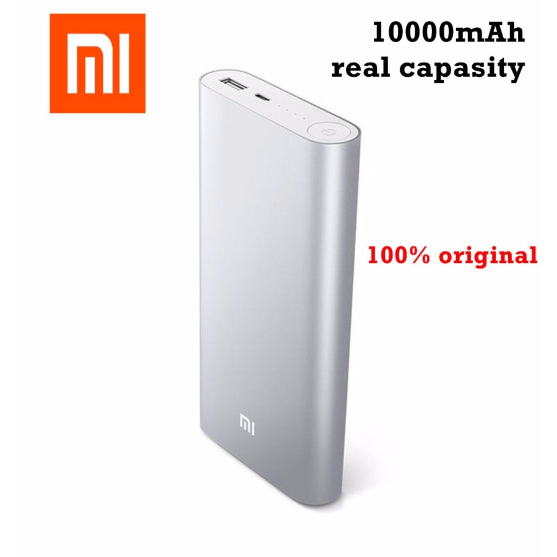 Xiaomi Mi Power Bank 2 - 10000mAh Original Powerbank (Silver)   1 TAHUN GARANSI resmi