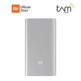 Jual Xiaomi Mi Power Bank 5000Mah Silver Online Jawa Barat