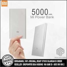 Review Toko Xiaomi Powerbank 5000 Mah Slim Original Silver Online