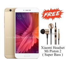 Xiaomi Mi5c - Ram 3GB - Rom 64GB - Android Nougat - Layar 5.15 inch - Gold