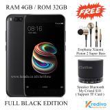 Harga Xiaomi Mi5X Ram 4Gb Rom 32Gb 4G Fingerprint Matte Black Asli Xiaomi