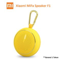 Ulasan Xiaomi Mifa F1 Outdoor Waterproof Ipx4 Bluetooth Portable Speaker With Micro Sd Slot Kuning