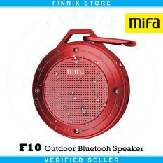 Harga Xiaomi Mifa F10 Outdoor Bluetooth Speaker Ipx6 Water Resistant Red Original