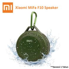 Jual Xiaomi Mifa F10 Outdoor Waterproof Ipx6 Bluetooth Portable Speaker Army Green