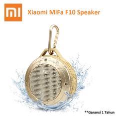Jual Xiaomi Mifa F10 Outdoor Waterproof Ipx6 Bluetooth Portable Speaker Gold Satu Set