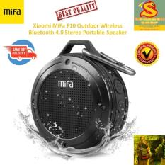 Xiaomi MiFa F10 Outdoor Wireless Bluetooth 4.0 Stereo Portable Speaker Built-in Mic Shock Resistance IPX6 Waterproof Speaker with Bass