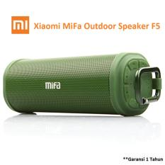 Xiaomi Mifa F5 Outdoor Waterproof Ipx5 Bluetooth Portable Speaker With Micro Sd Army Green Promo Beli 1 Gratis 1