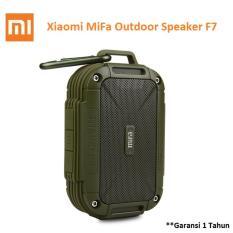 Xiaomi Mifa F7 Outdoor Waterproof Ipx6 Bluetooth Portable Speaker Army Green Terbaru