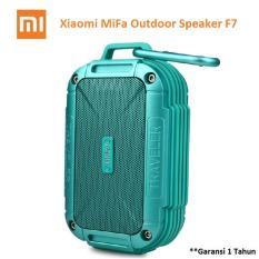 Review Xiaomi Mifa F7 Outdoor Waterproof Ipx6 Bluetooth Portable Speaker Biru