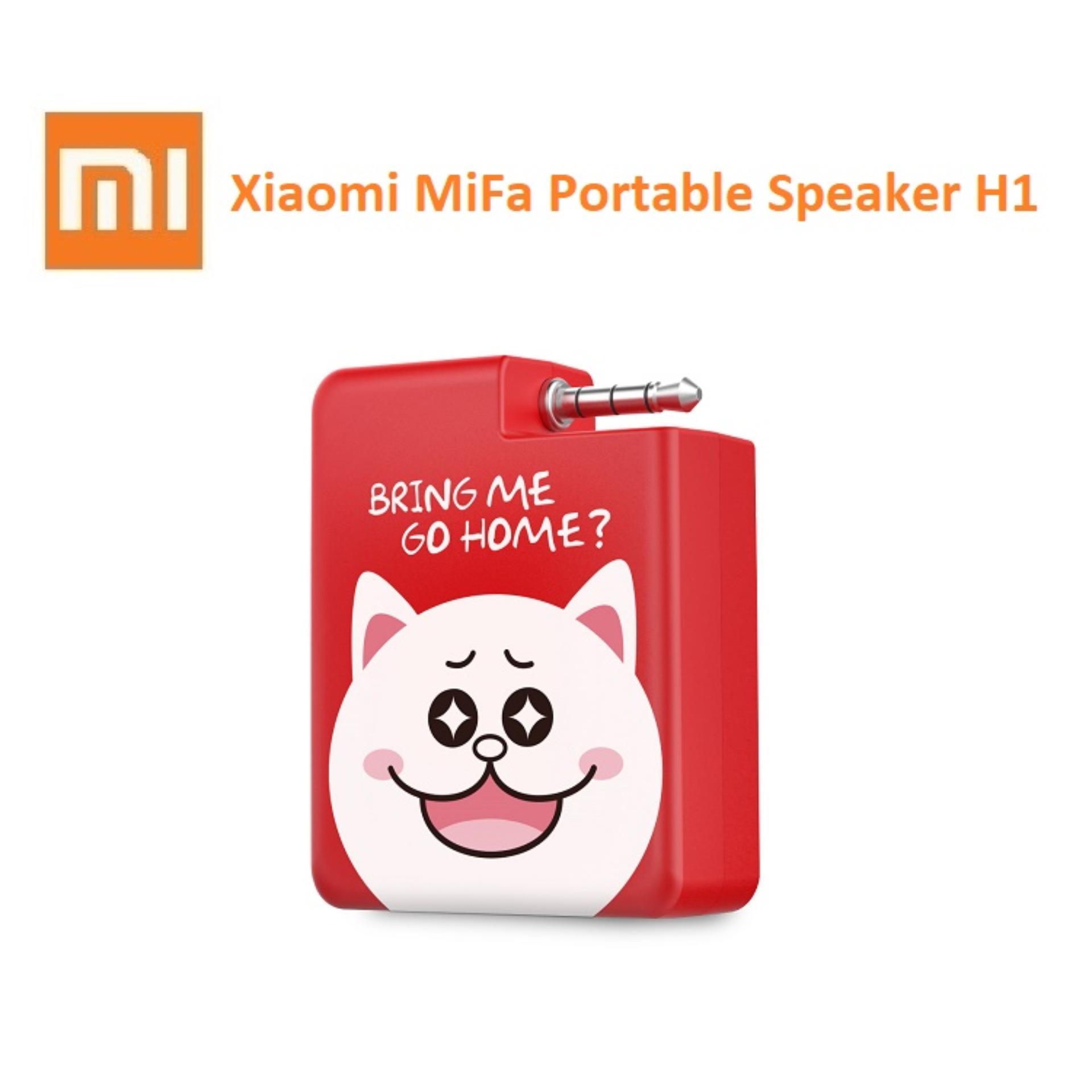 Harga Xiaomi Mifa H1 Portable Speaker Stereo Mini 3 5Mm Audio Plug N Play Merah Yang Murah Dan Bagus