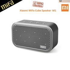 Spesifikasi Xiaomi Mifa M1 Bluetooth Portable Speaker Cube With Micro Sd Grey Xiaomi Terbaru