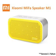 Cara Beli Xiaomi Mifa M1 Bluetooth Portable Speaker Cube With Micro Sd Kuning