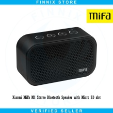 Review Xiaomi Mifa M1 Stereo Bluetooth Speaker With Micro Sd Slot Black