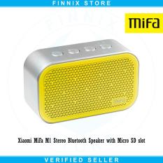 Review Tentang Xiaomi Mifa M1 Stereo Bluetooth Speaker With Micro Sd Slot Yellow