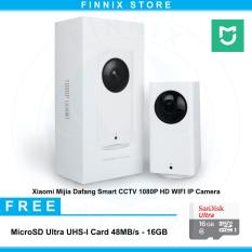 Jual Cepat Xiaomi Mijia Dafang Smart Cctv 1080P Hd Wifi Ip Camera Sandisk 16Gb White