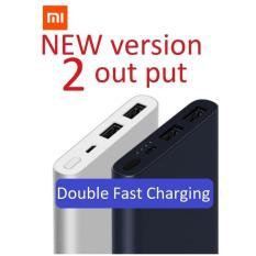 Pusat Jual Beli Xiaomi New Mi Power Bank 10 000Mah Pro 2 Fast Charging Dual Output Silver Jawa Barat