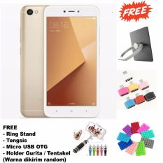 Xiaomi Note 5A 2/16 - 13/5MP - (Free 4 Item Accessories ) - Gold