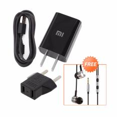 Jual Charger Xiaomi Original 100 Authentic Travel Charger With Adapter Eu 10W 2A Free Xiaomi Earphone Piston 2Nd Gen Bergaransi Dki Jakarta