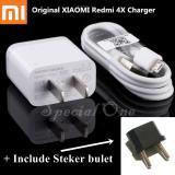 Jual Xiaomi Original 5V 2 0A Fast Wall Charger Adapter Kabel Micro Usb For Xiaomi Redmi 4X Mdy 08 Ev Putih Xiaomi Murah