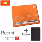 Xiaomi Original Battery Bm 45 Baterai For Xiaomi Redmi Note 2 3020 Mah Free Dekstop Original