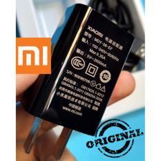 XiaoMI Original Charger 2A Type MDY - 08 dengan Kabel Micro USB Cable Extra 2A - Hitam