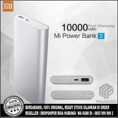 Harga Xiaomi Power Bank 10000 Mah Slim 2 Fast Charging 100 Original Silver Yang Murah