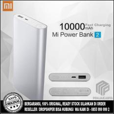 Jual Xiaomi Powerbank 10000 Mah Slim 2 Version Fast Charging Original Silver Xiaomi Branded