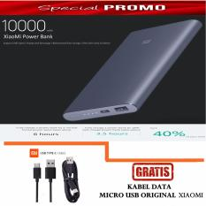 Harga Xiaomi Original Power Bank 10000 Mah Qc2 Pro Fast Charge Free Kabel Data Xiaomi Xiaomi