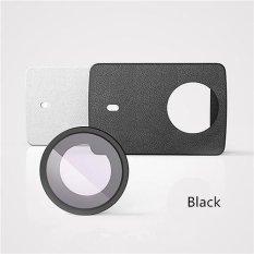 Beli Barang Xiaomi Original Pu Leather Case With Uv Protective Lens For Xiaomi Yi 2 Ii 4K Camera Hitam Online