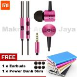 Spesifikasi Xiaomi Piston 2 Earphone Headset Hendfree Big Bass Piston Mi 2Nd Generation Handsfree Headset Warna Random Acak Free Earbuds Power Bank Slim Lengkap