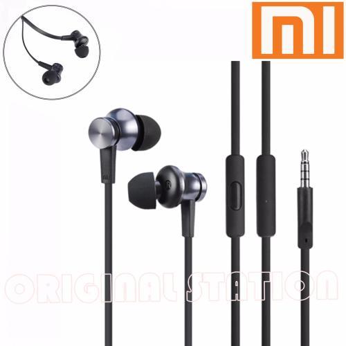 Xiaomi Piston 3 Original Earphones Earbuds In Ear Handsfree Mic Remote Super Bass - Hitam - Headphone In Ear [DKI Jakarta] | DuniaAudio.com