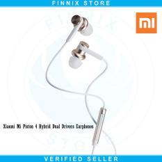 Harga Xiaomi Mi Piston 4 Hybrid Dual Drivers Earphones Headset Gold Yang Murah