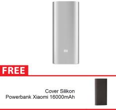 Harga Xiaomi Powerbank 16000 Mah Silver Gratis Cover Powerbank Warna Hitam Dan Spesifikasinya
