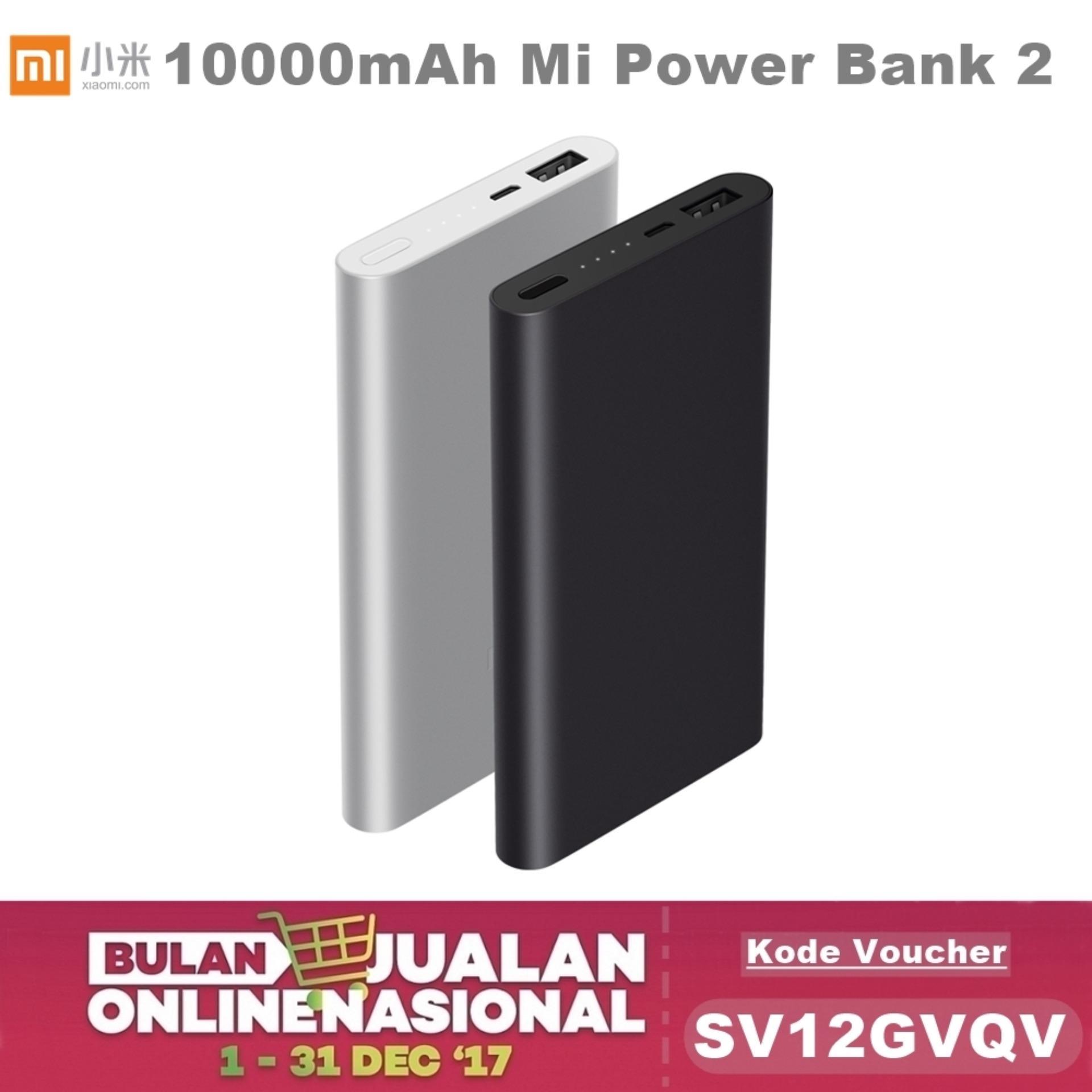 Spesifikasi Xiaomi Powerbank Slim 2 10000Mah Powerbank Xiaomi Fast Silver Lengkap