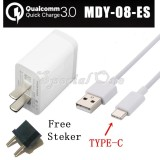 Toko Xiaomi Quick Charging 3 Mdy 08 Es Charger With Type C For Mi 6 Mi 4C Mi 5 And Other Original Xiaomi Dki Jakarta