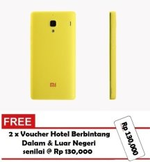 Harga Xiaomi Redmi 1S Original Casing Soft Case Silicone Yellow Xiaomi Asli