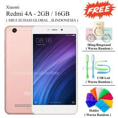 Review Xiaomi Redmi 4A Ram 2Gb Rom 16Gb Free 3 Item Rose Gold Terbaru