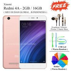 Tips Beli Xiaomi Redmi 4A Ram 2Gb Rom 16Gb Layar 5 Inch Free 3 Item Rose Gold