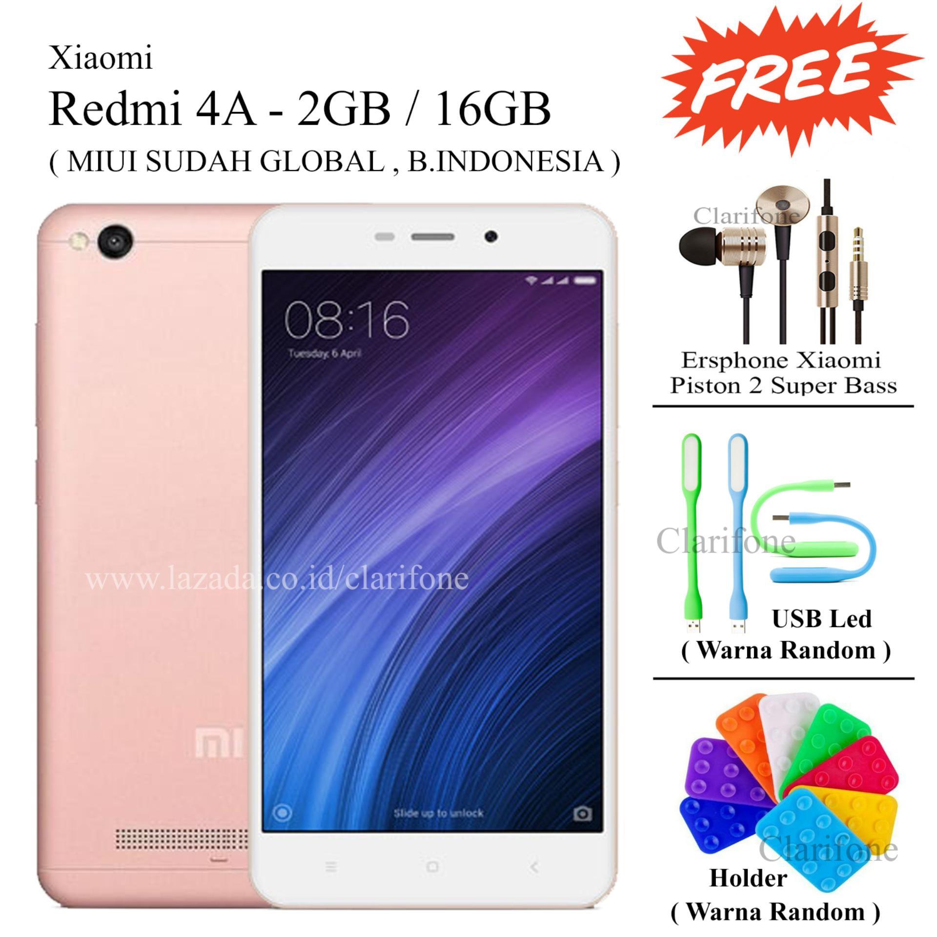 Beli Xiaomi Redmi 4a Ram 2gb Rom 16gb Layar 5 Inch Free 3 2