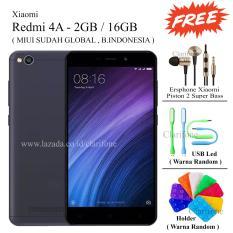 Xiaomi Redmi 4A - Ram 2GB - Rom 16Gb - Layar 5 inch - Free 3 item - Stone Gray