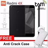 Harga Xiaomi Redmi 4X 3Gb 32Gb Black Garansi Resmi Tam Anti Cr*Ck Softcase Lengkap